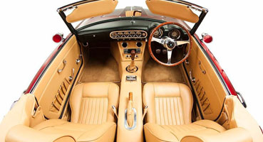 Interiors - Close up of CalSpyder Interior